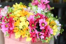 Bangkok Thailand Flower Markt