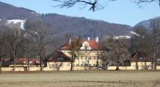 Frohnburg Palace in Salzburg