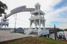 The Sultan Ismail Bridge is a bridge in Muar, Johor