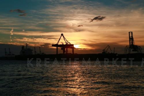 Sunset - Osaka Bay - Harbour Cruise