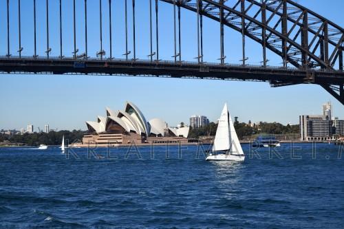 the most famous landmark sydney opera house
