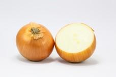 Yellow onion whole half slice