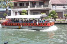 River boat on Melaka River