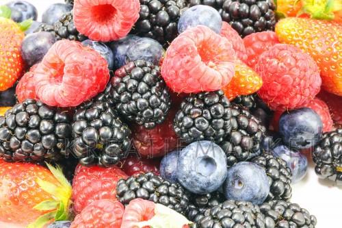 Mix berry fruit