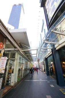 MALAYSIA - DECEMBER 25, 2017: Bukit Bintang, shopping and entertainment hub since its humble beginning of 1960s. editorial W04DEC18