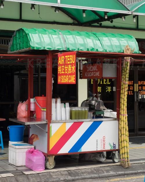 Sugar cane stall