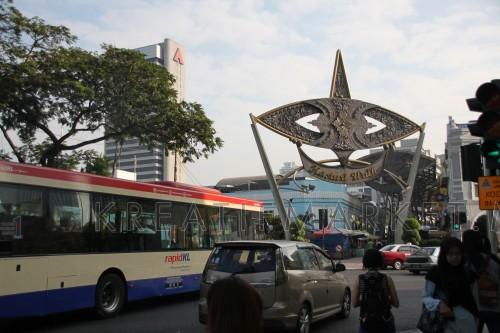 View of Kasturi Walk and Central Market, Kuala Lumpur