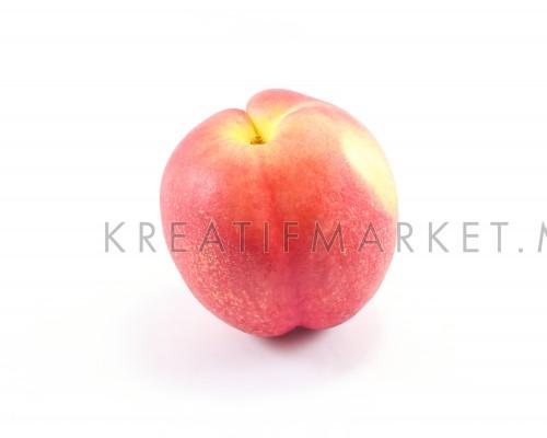 Fresh Ripe Juicy Peach Fruit