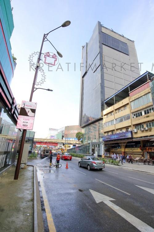 MALAYSIA - DECEMBER 25, 2017: Bukit Bintang, shopping and entertainment hub since its humble beginning of 1960s. Editorial, W04DEC