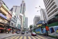 Bukit Bintang, the most popular shopping area in Kuala Lumpur