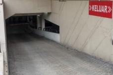 Car park exit