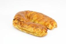 U shaped bun bread salmon paneo