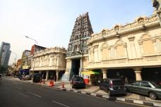 the Sri Mahamariamman Temple, Kuala Lumpur