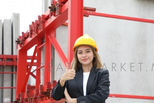 Man woman construction architecture work W04NOV
