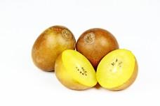 gold and green kiwi fruit