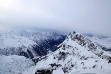 Snow-capped Mountains - Engelberg-Titlis, Switzerland